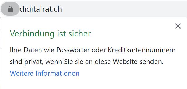 SSL Zertifikat sicher